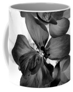 Geranium Black Coffee Mug