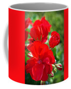 Geraniums Coffee Mug