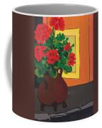 Geraniums In Saint-pompon Coffee Mug