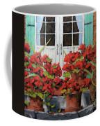 Geraniums On The Porch Coffee Mug