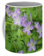 Geraniums Spring Wildflowers Coffee Mug