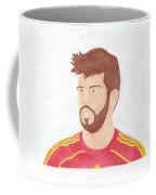 Gerard Pique Coffee Mug
