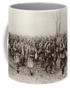 German And Austrian Soldiers Marching Coffee Mug