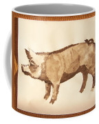 German Pietrain Boar 31 Coffee Mug