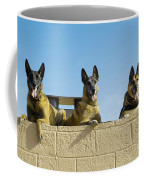 German Shephard Military Working Dogs Coffee Mug
