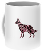 German Shepherd - Animal Art Coffee Mug