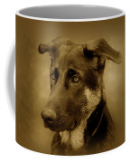 German Shepherd Pup Coffee Mug