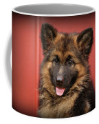 German Shepherd Puppy - Queena Coffee Mug