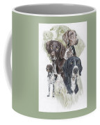 German Shorted-haired Pointer Revamp Coffee Mug