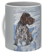 German Shorthaired Pointer In The Snowdrift Coffee Mug