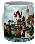Germany - Clouds Above The Rhine Coffee Mug