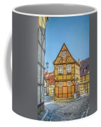 Germany - Half-timbered Houses And Alleys In Quedlinburg Coffee Mug
