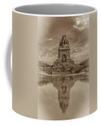 Germany - Monument To The Battle Of The Nations In Leipzig, Saxony, In Sepia Coffee Mug
