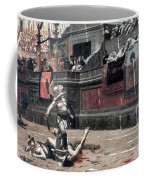 Gerome: Gladiators, 1874 Coffee Mug by Granger