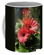 Gerberas In Coral Pink 2 Coffee Mug