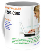 Get Solution For Gmail Support Service Number 1-844-202-0908 Coffee Mug