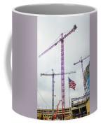 Getter Done Tower Crane Construction Art Coffee Mug
