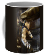 Getting A Hand Up Coffee Mug