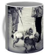 Getting To Know You - Puppies On Parade Coffee Mug