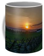 Gettysburg At Sunset Coffee Mug