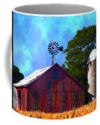 Gettysburg Barn Coffee Mug