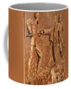Gettysburg Bronze Relief Coffee Mug