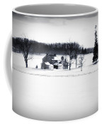 Gettysburg Farm In Winter Coffee Mug