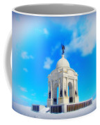 Gettysburg Memorial In Winter Coffee Mug