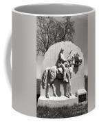 Gettysburg National Park 17th Pennsylvania Cavalry Monument Coffee Mug