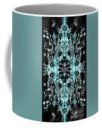 Ghost Flake Inverted Coffee Mug by Reed Novotny