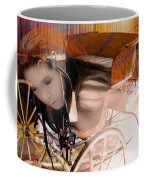 Ghost In The Carriage House Coffee Mug