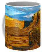 Ghost Ranch At Sunset, Abiquiu, New Coffee Mug