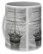 Ghost Ship - Gently Cross Your Eyes And Focus On The Middle Image Coffee Mug