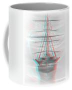 Ghost Ship - Use Red-cyan 3d Glasses Coffee Mug