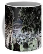 Ghostly Cemetary Coffee Mug