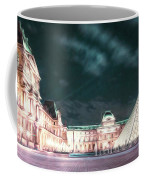 Ghosts Of The Louvre Museum 2  Art Coffee Mug