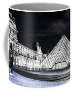 Ghosts Of The Louvre Museum  Art Coffee Mug