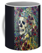 Ghoul With A Pearl Earring Coffee Mug