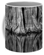 Giant Cypress Tree Trunk And Reflection 2 Coffee Mug