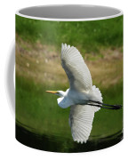 Giant Egret Grace Coffee Mug