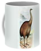 Giant Moa Dinornis Ingens, Cenozoic Bird Coffee Mug