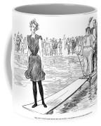 Gibson: Bather, 1900 Coffee Mug