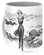 Gibson: Bather, 1902 Coffee Mug