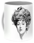 Gibson Girl, 1900 Coffee Mug