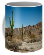 Gila Mountains And Sonoran Desert Coffee Mug