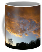 Gilded Cloud Bellies Above The Western Skyline Coffee Mug