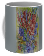 Gilded Flowers Coffee Mug
