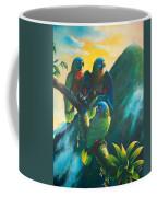 Gimie Dawn 1 - St. Lucia Parrots Coffee Mug