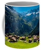 Gimmelwald In Swiss Alps - Switzerland Coffee Mug