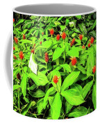 Ginger Flowers Coffee Mug